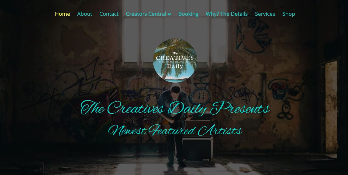 The Creatives Daily Presents web design by Artistic Creative Websites Naples Fl